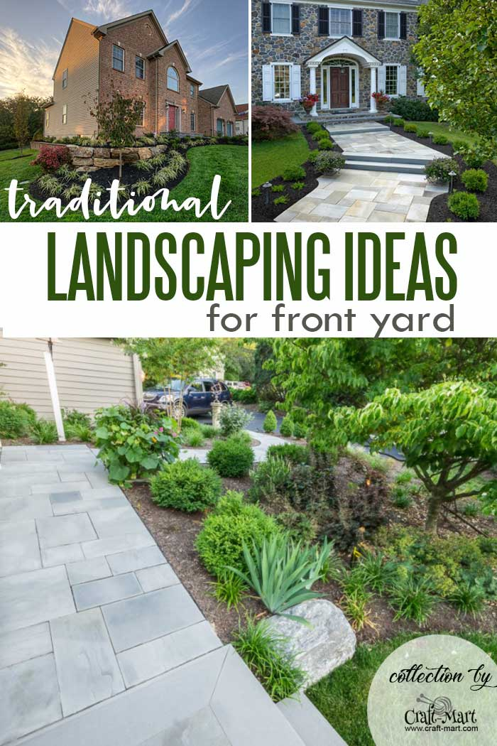 Traditional Landscaping Idease for the Front of the House