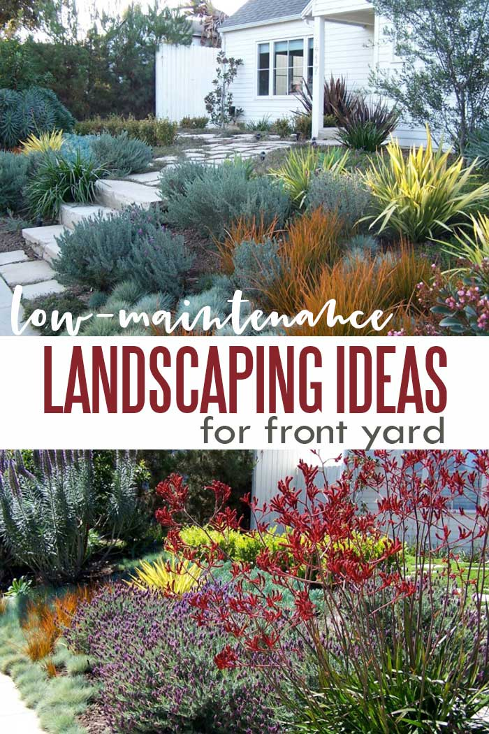 Small front yard landscaping idea