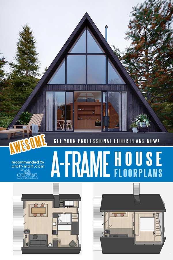 A-Frame House Plans for a small family