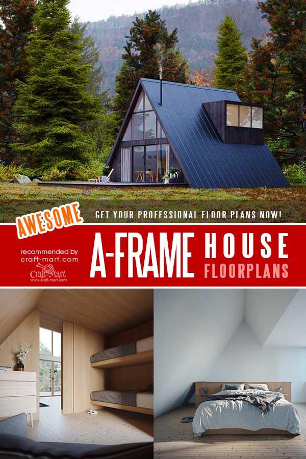 Elegant a frame house