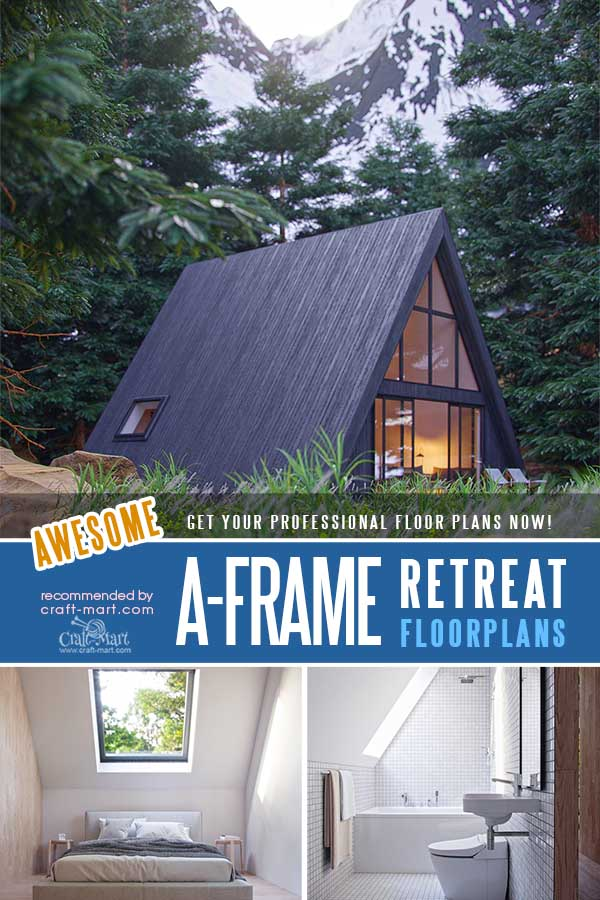 Small A-Frame family House