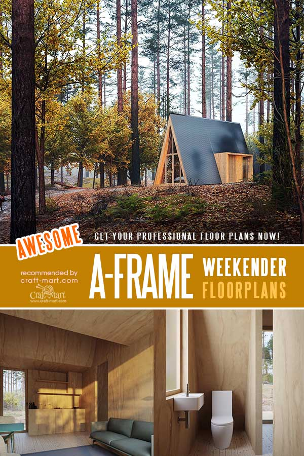 A-Frame Cabin Plans for short vacations