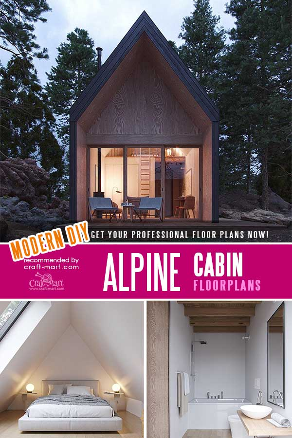 Alpine Cabin Plans
