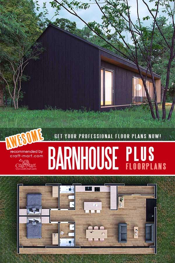 Barnhouse Plus floorplans for family of 4