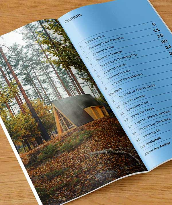 A-frame cabin plans