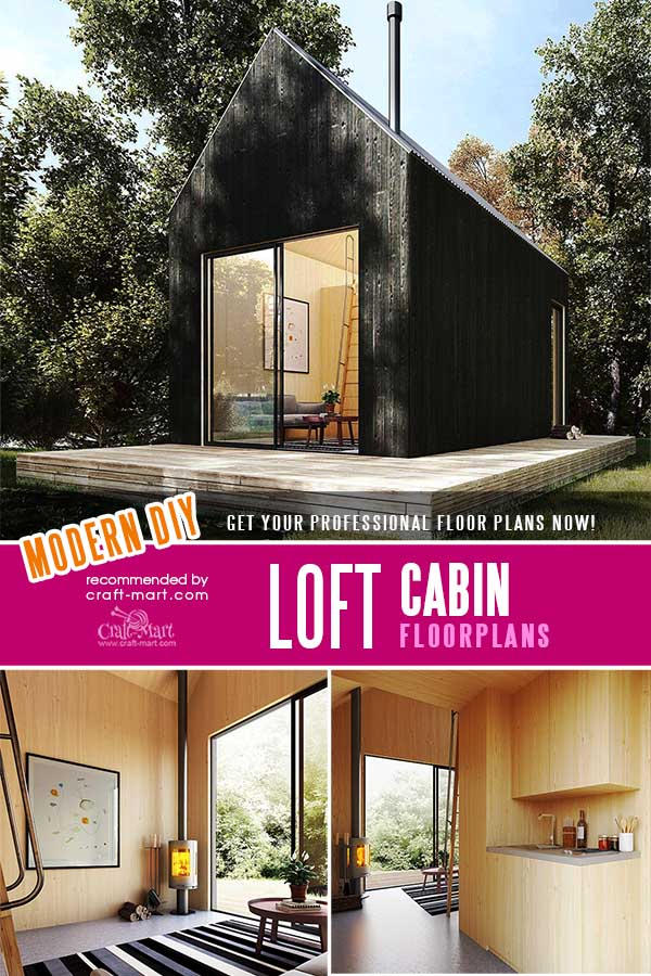 Loft Cabin Floor Plans