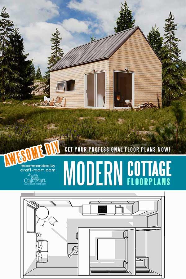 Tiny Modern Farmhouse