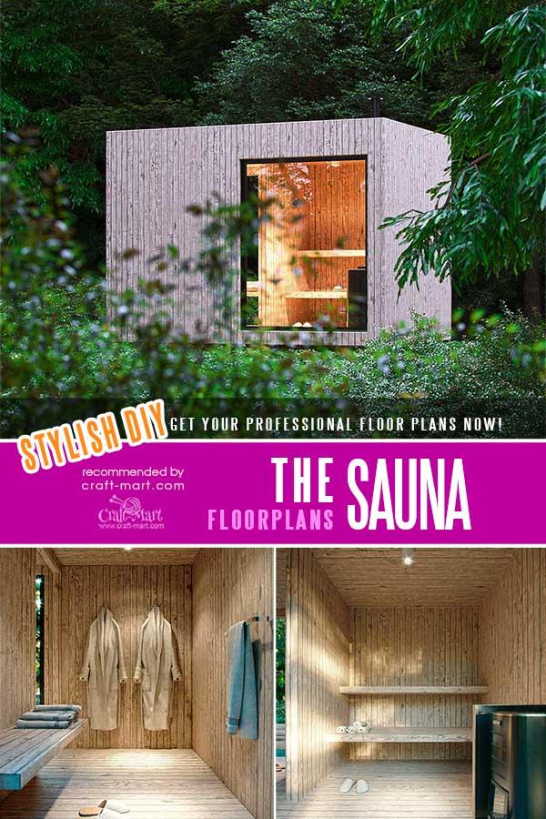 Stylish DIY Sauna