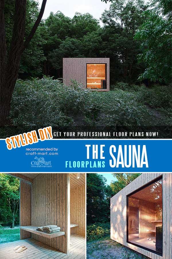 Sauna floorplans