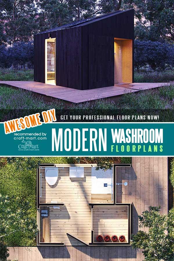 A Modern Washroom