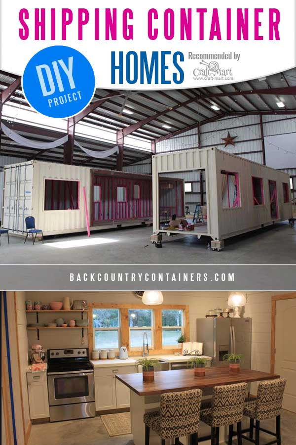 containerized homes from Back Country Containers