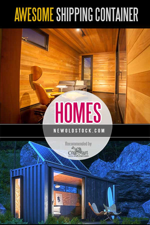 containerized homes from New Old Stock