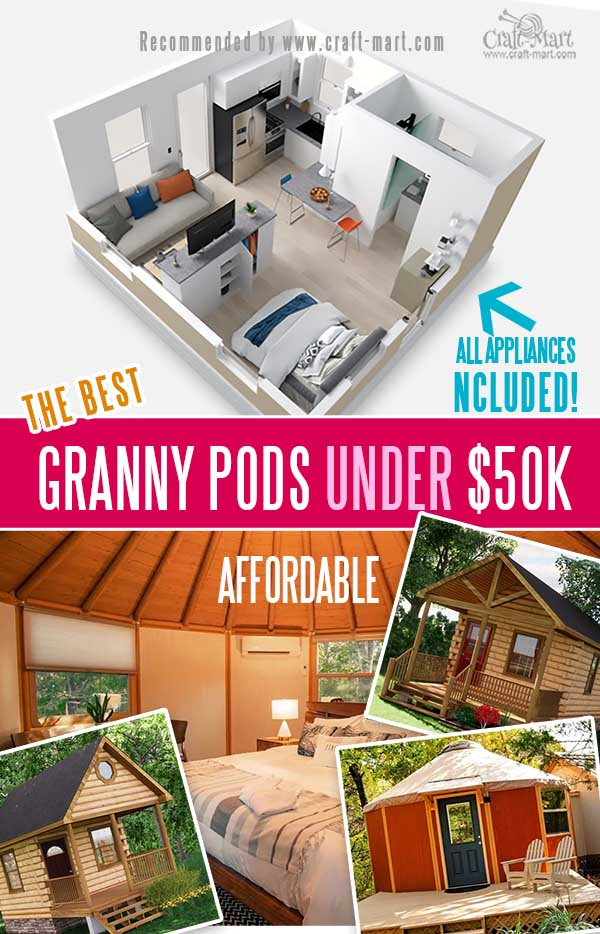 Granny Pods and Tiny Modular Homes for Sale