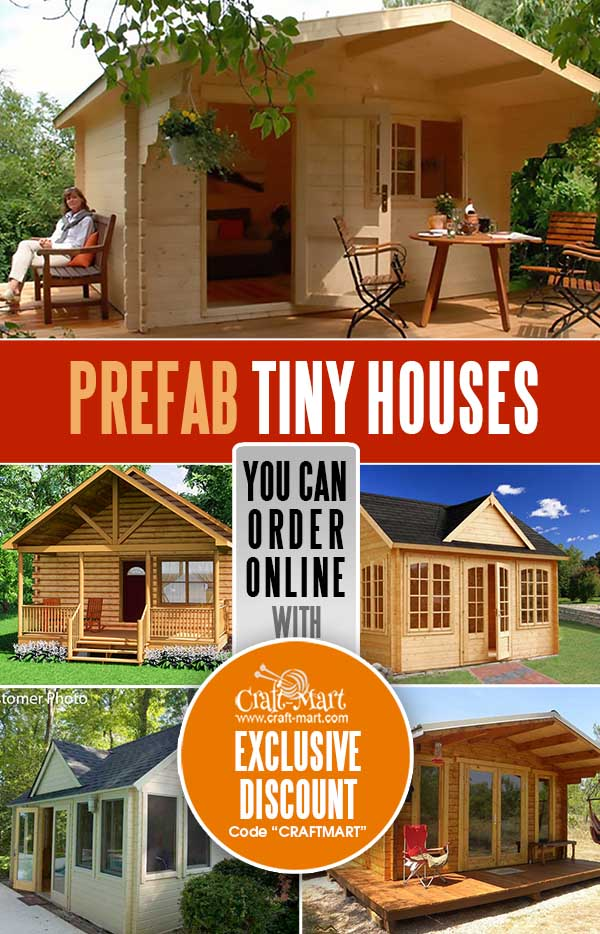 Prefab Tiny Houses You Can Order Online