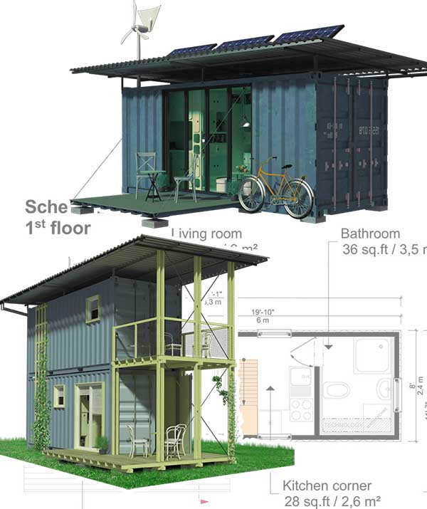 containerized homes
