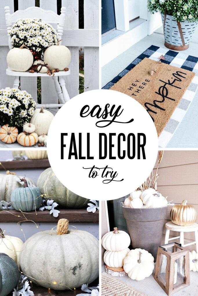 Easy Fall Decor Ideas