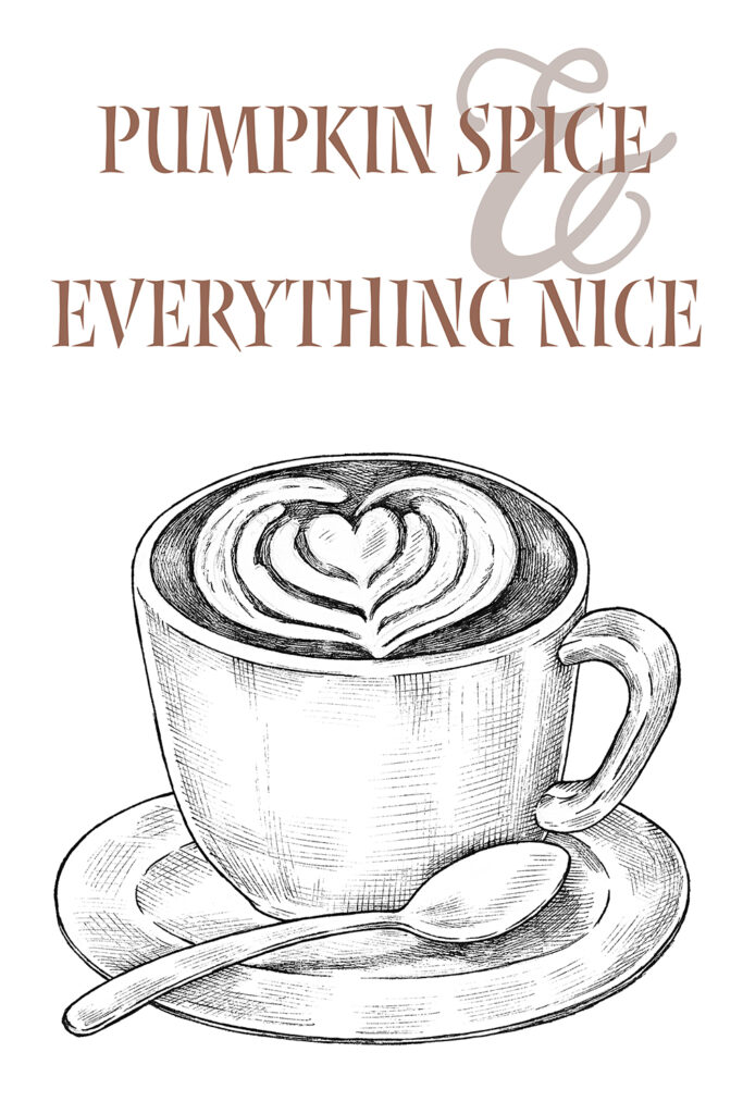 Printable Fall Décor Coffee Cup