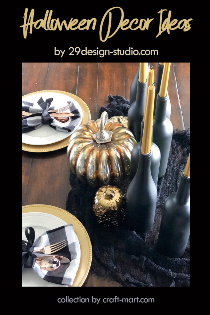 Elegant and Sophisticated Halloween Décor