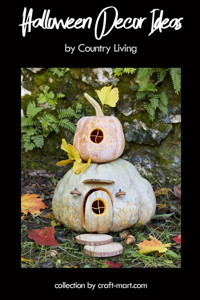Enchanting Gnome House Pumpkin